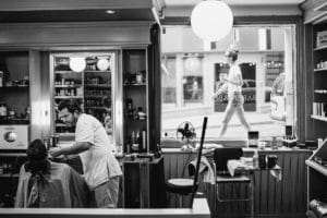 Barber and Books Sodermalm